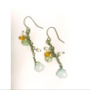 Jewelry - Beaded boho earrings.